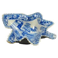 Leaf form Pickle Dish 18th Century
