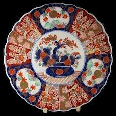 Stunning 19th c Japanese Imari Charger