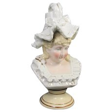 Old Paris Type Porcelain Child  Figurine