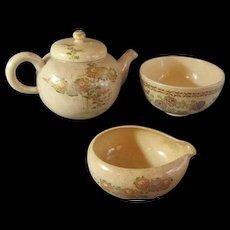 Antique Japanese Satsuma Tea Set