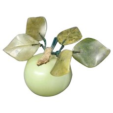 Hard -Stone Apple Paperweight
