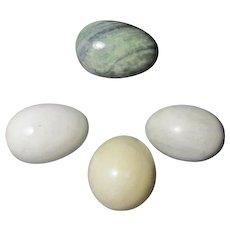 Four Hard Stone Eggs