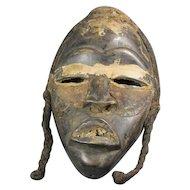 African Mid-Century Dan Tribal Mask
