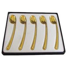 Mikimoto set of Demitasse Spoons