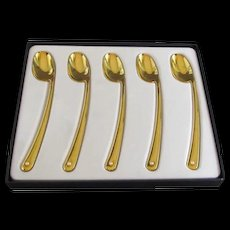 Mikimoto set of Demitasse Spoons