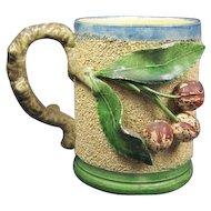 Old Majolica Frog Mug