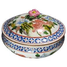 Antique Japanese Porcelain Jar