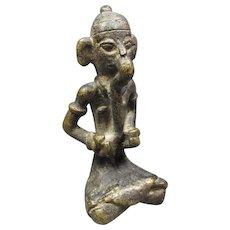 Asian Bronze Figure Ganesh/Style