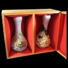 Ginbari Cloisonné Vases