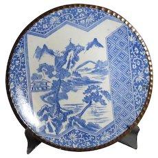 Antique Meiji Igezara Ware Charger