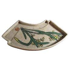 Old Japanese Enameled  Plate/Tray
