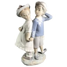 Lladro Figurine Puppy Love
