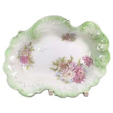 Foliate English Porcelain Bowl