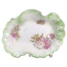 Foliate English Porcelain Bowl