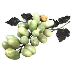 Chinese Hard Stone Grape Cluster