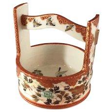 Old Kutani Porcelain Bucket