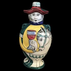 Italian Picasso  Style Pottery Jug