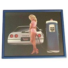 """"""" Quickie """" Corvette  Framed Print"""