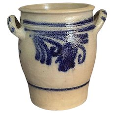 Old Stoneware Crock
