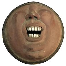 Pottery Mask/Bowl with White Teeth