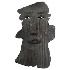 Abstract Metal Mask/Plaque