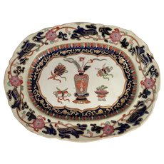 Antique Masons Ironstone Charger