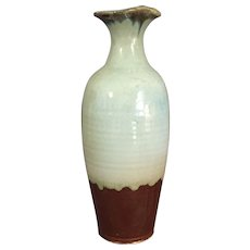 Tall Art Pottery Vase