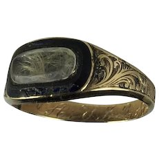 Antique Ring Engraved John Quincy Adams
