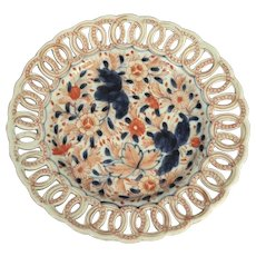 Antique Japanese Meiji Period Imari Plate