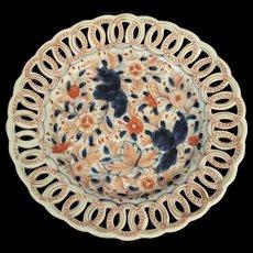 Antique Japanese Meiji Period Imari Plate