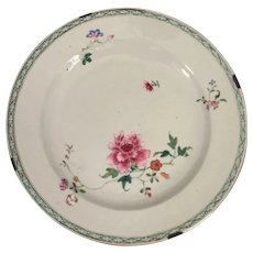 Circa 1700's Chinese Export Plate