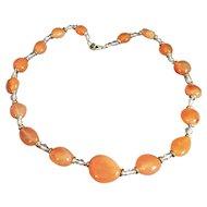 Carnelian Agate Necklace