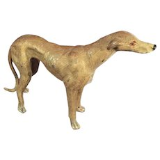 Austrian/Viennese Cold Painted Bronze of a Greyhound