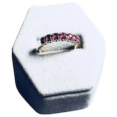 10 K Gold Ruby Ring