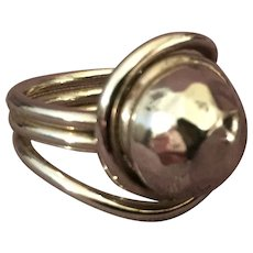 Sterling Fashion Ring