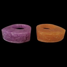 Pair of Hardstone Rings