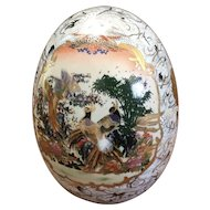 Tall Porcelain Egg