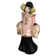 Asian Girl/Lady Porcelain Figure