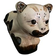 Antique Chinese Cat Pillow