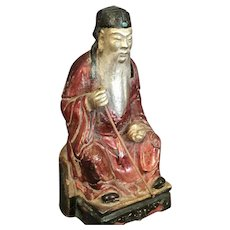 Old Chinese Ceramic Figure - Red Tag Sale Item