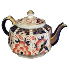 Gaudy Welch Dutch Teapot