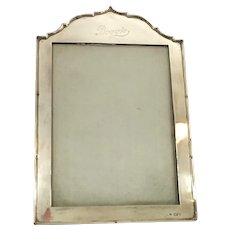 "English Sterling Photo Frame circa 1927 "" Boogie"""