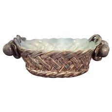 Freeman Leidy Ceramic Basket type Bowl