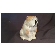 Bull Dog Ceramic Tobacco Humidor