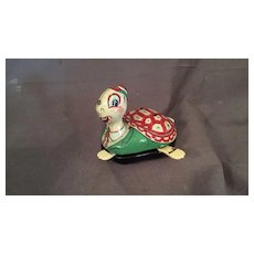 Tin Mechanical Toy Turtle