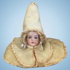 Pillow Doll with Bisque Head