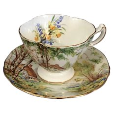 Lorna Doone Porcelain Cup and Saucer