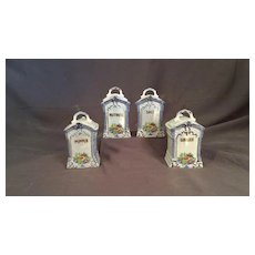 Set of Spice Jars or Canisters
