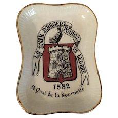 Miniature tray from La Tour D' Argent