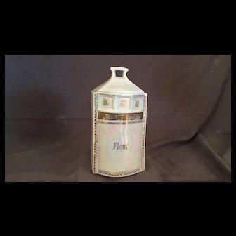 German Flour Canister